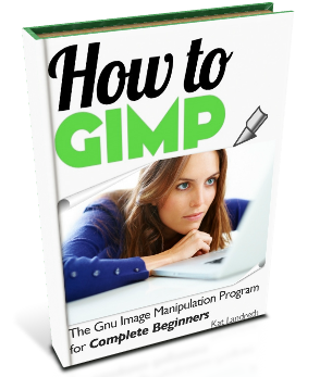 how to gimp book cover