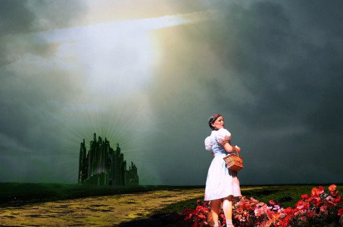 wizard of oz collage made with GIMP