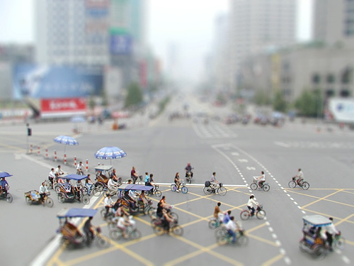 How to GIMP Tilt Shift