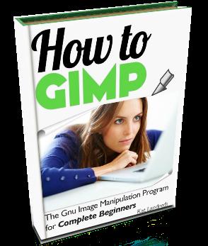 how to gimp book cover