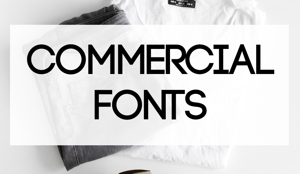 16 Amazing Fonts For Commercial Use for Your Next POD or Graphic